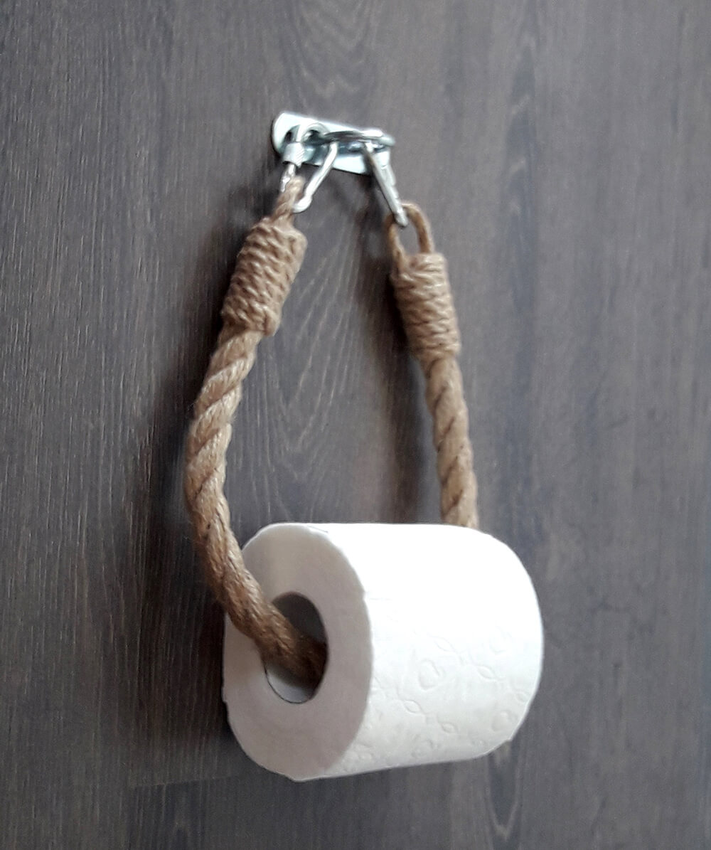 Farmhouse Jute Rope Toilet Paper Holder
