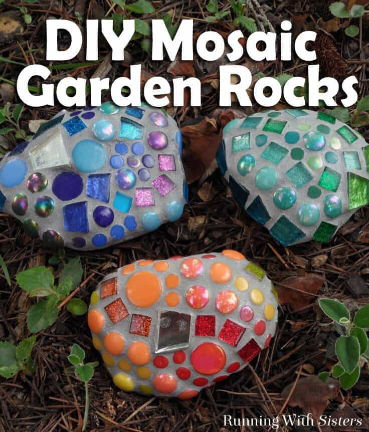 Colorful Rocks to Brighten the Garden