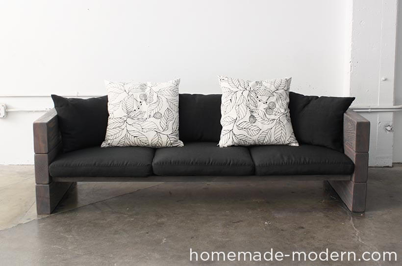 Outdoor Abode Buildable Rustic Sofa