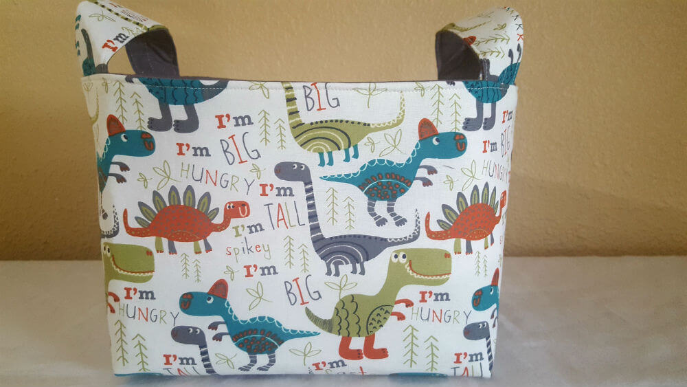 Fabric Toy Basket for Nurseries