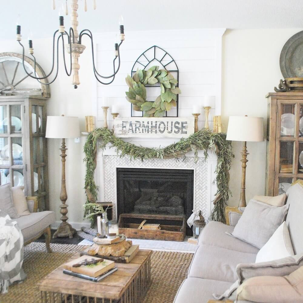 All the Trends on One Mantel