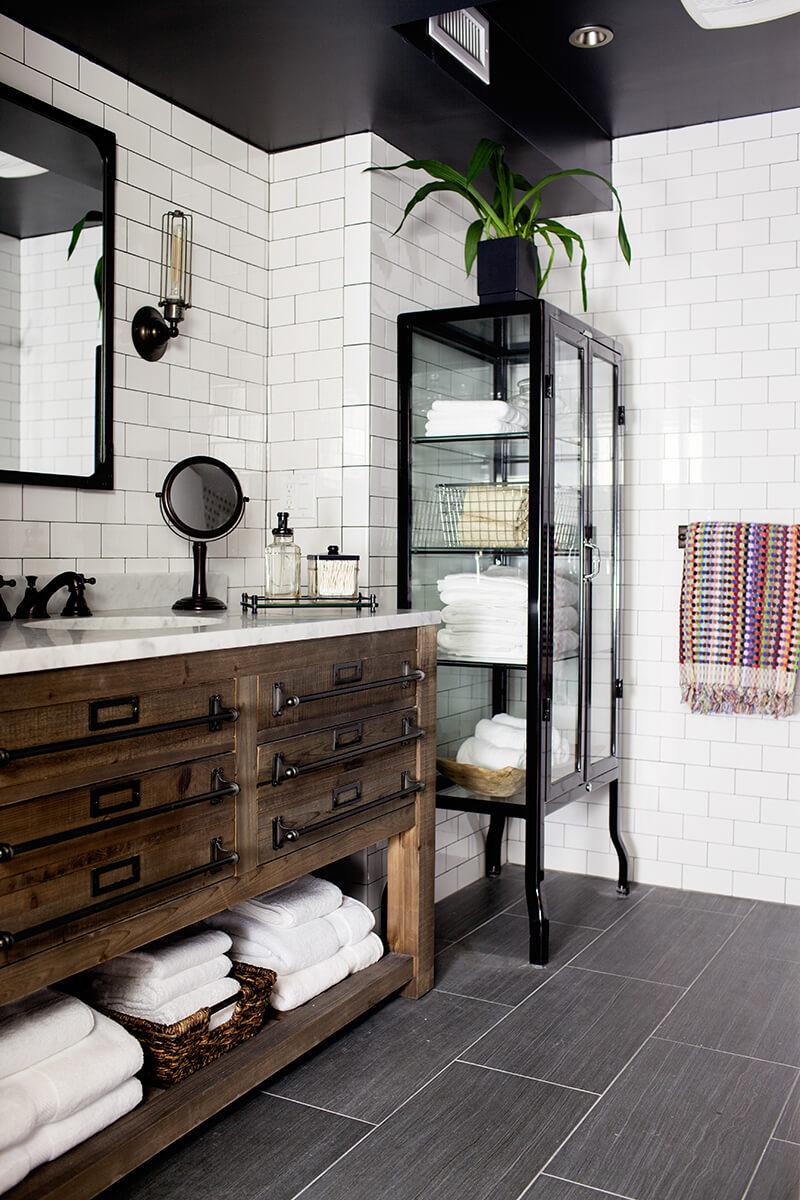 Rustic Simplicity Bathroom