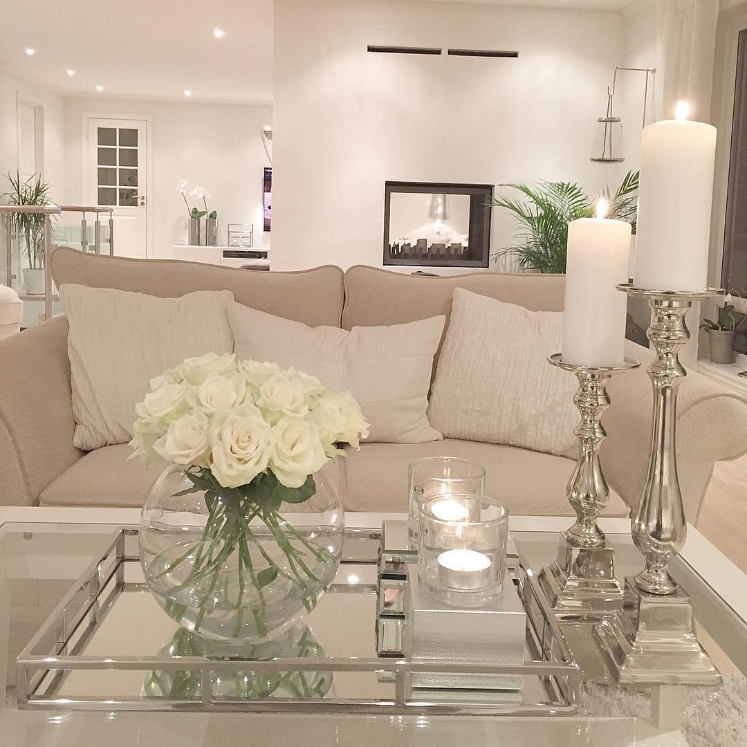 Romantic Relaxation Modern Living Room