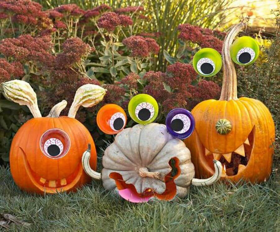 Googly-Eyed Monsters