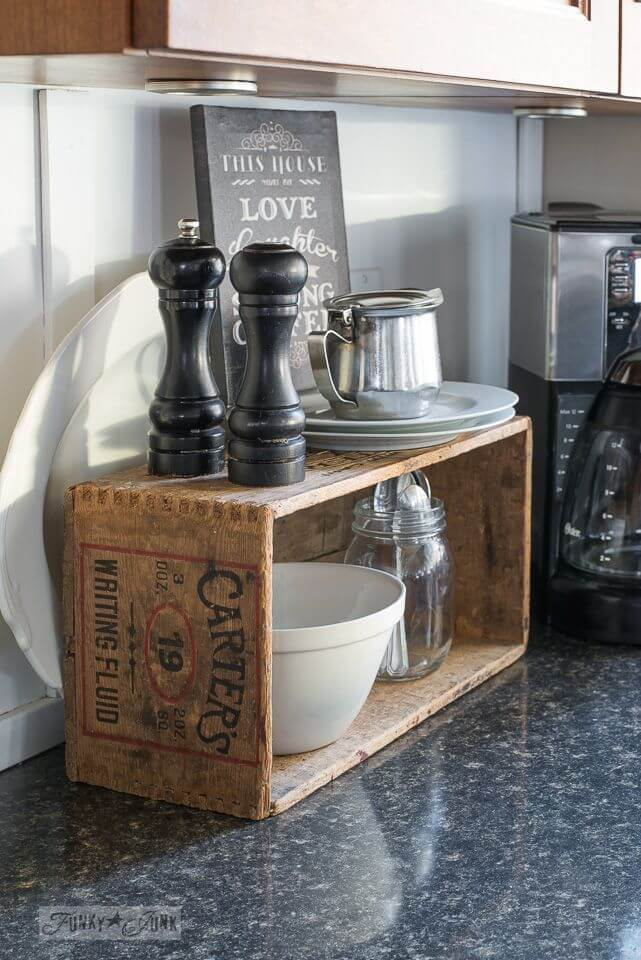 Self-Serve Condiment and Flatware Crate