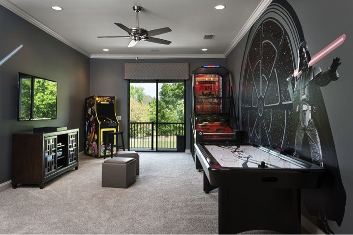 Awaken the Force with a Star Wars Game Room