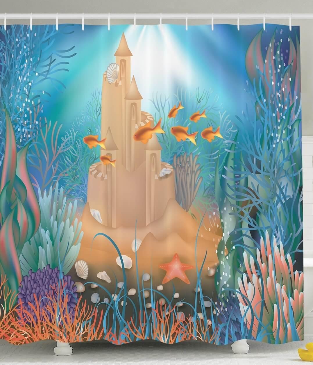 Ocean Floor Sand Castle Design