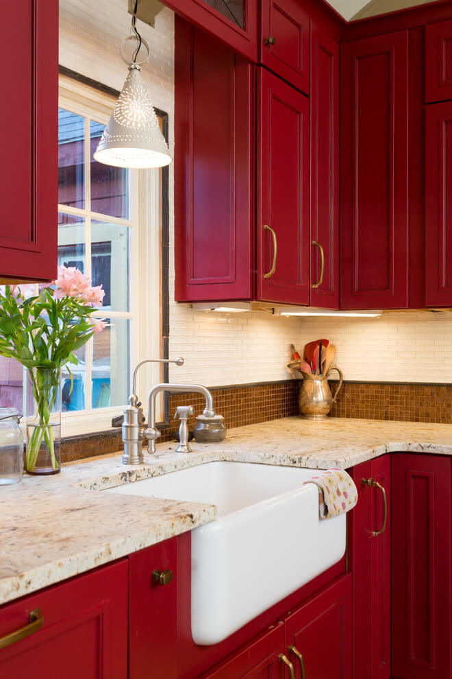 Choose a Rich Hue When Going for Red