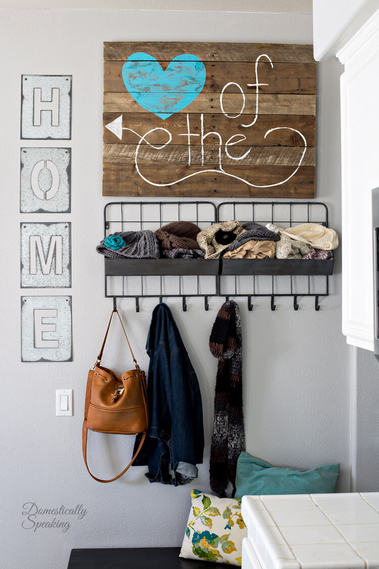 Heart of the Home DIY Sign
