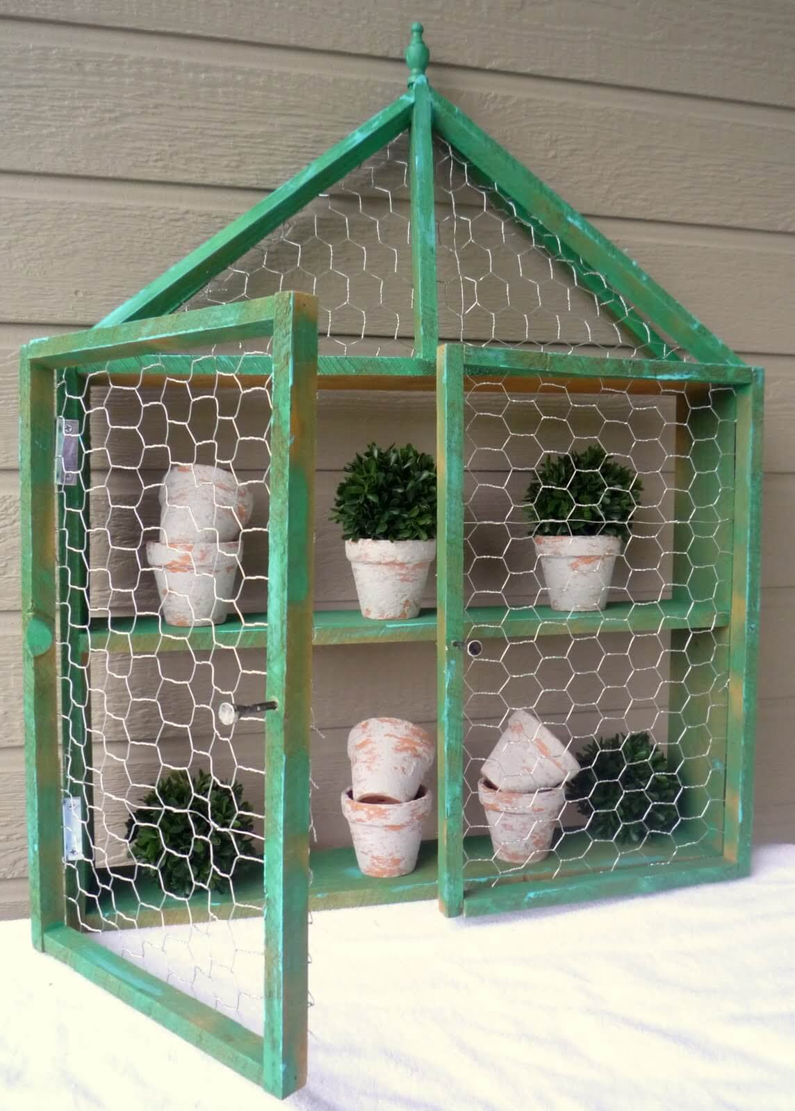 Make this Cute Outdoor Wall Cabinet