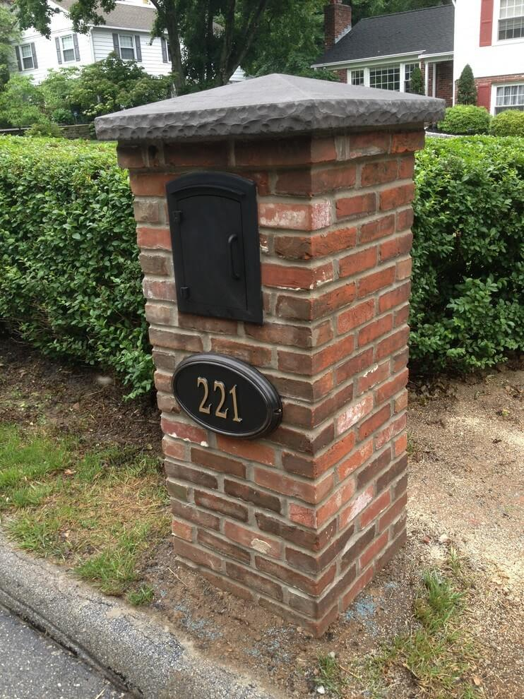 Brick Fortress for Your Mail