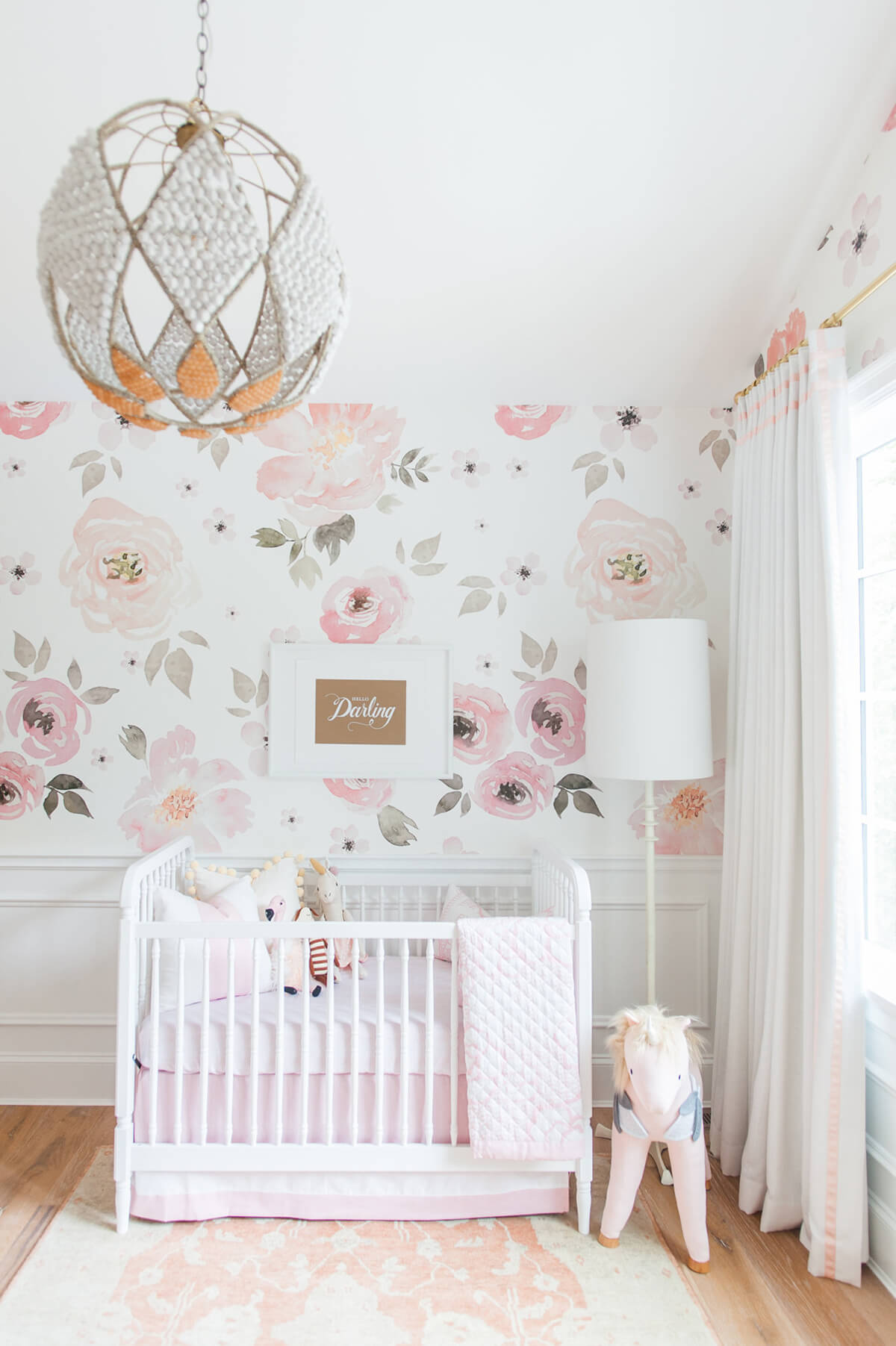 Consider Wall Coverings that Grow with Baby