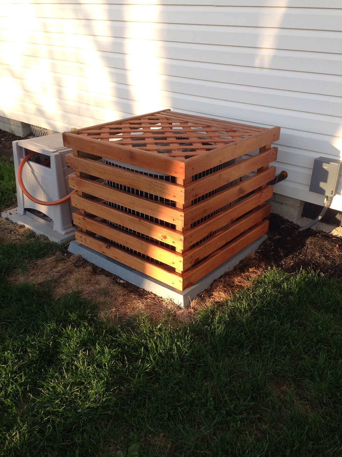 A Trellis Top Adds Further Disguise