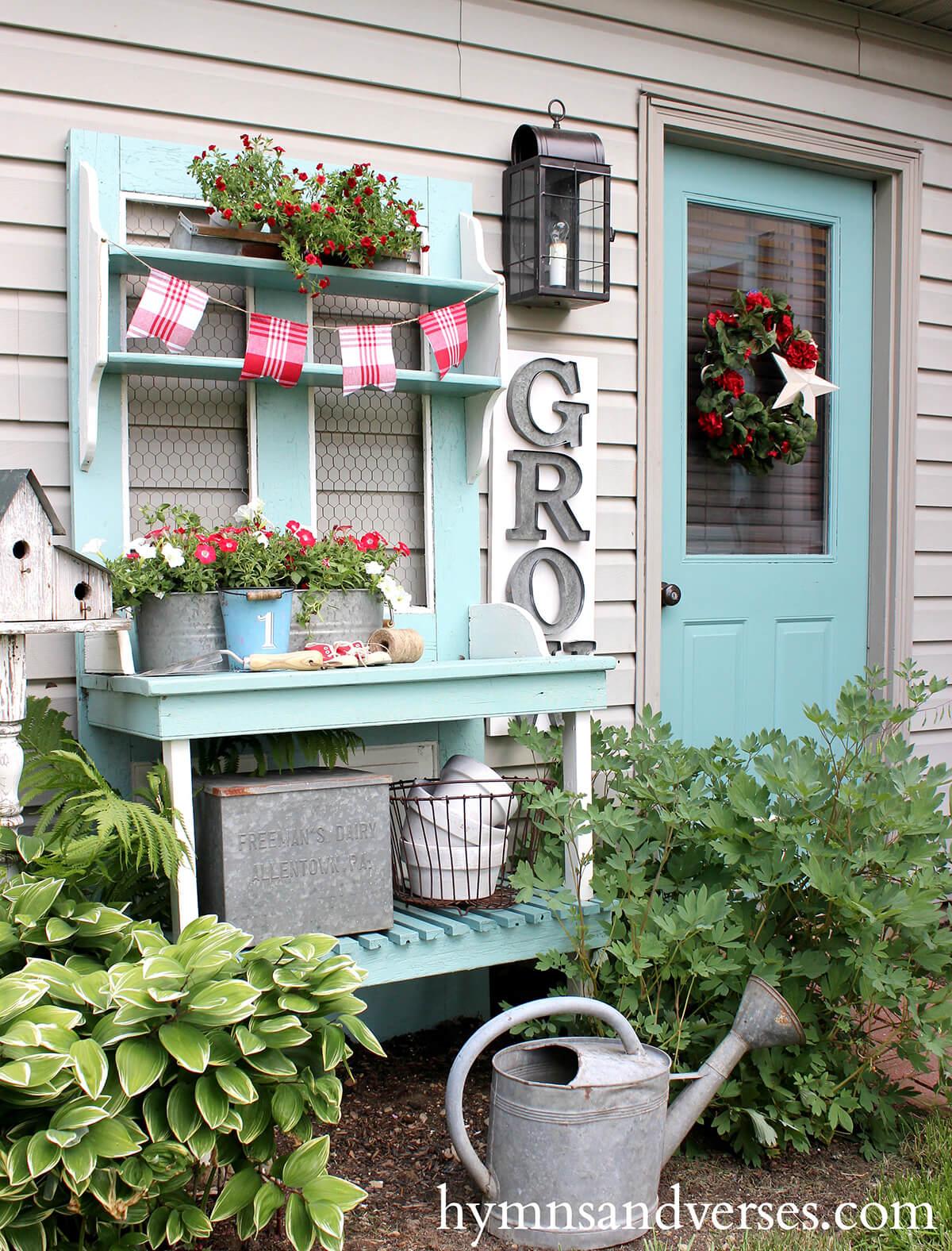 Garden Décor that Matches Your Door