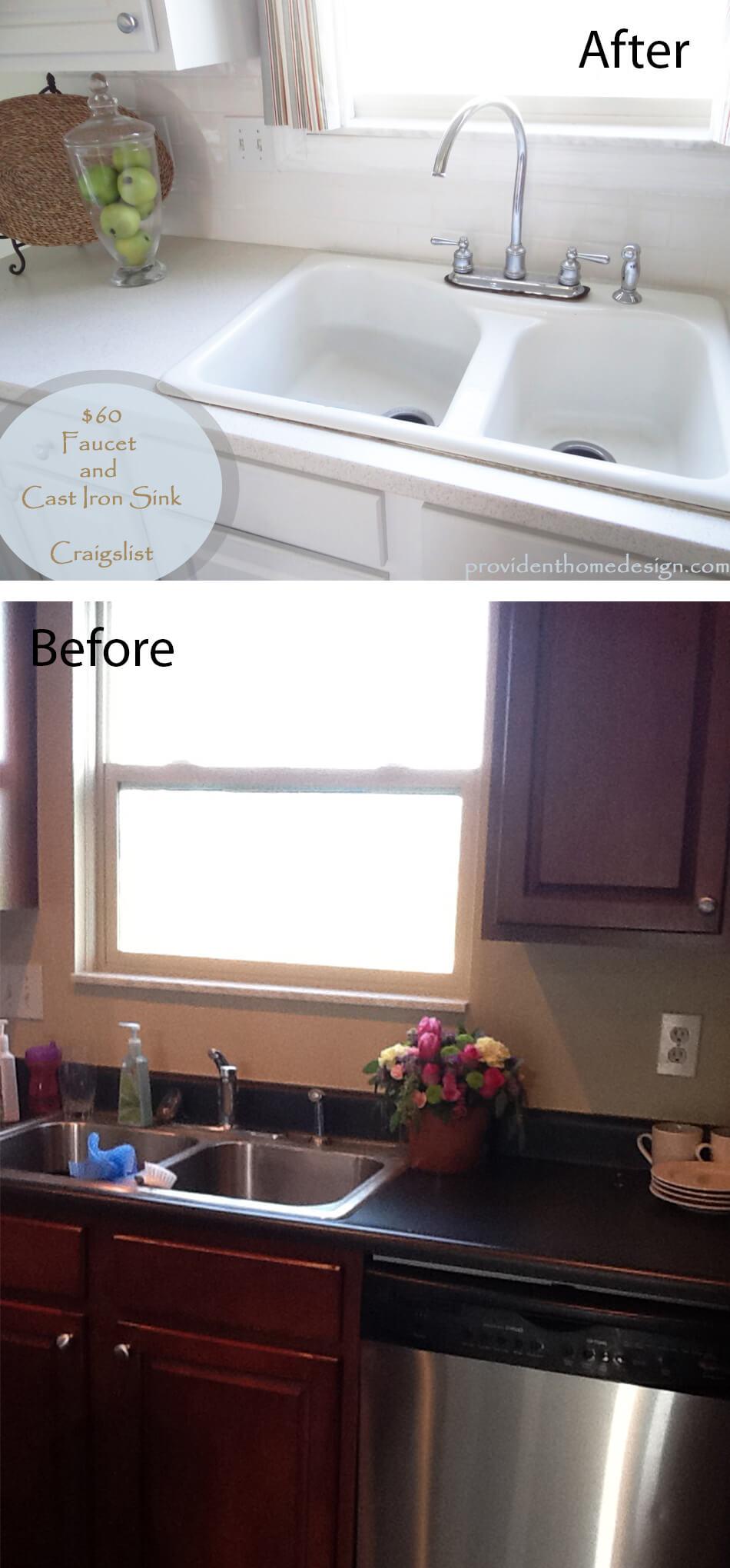 Transform Dark Kitchen Interior to Cottage Dream