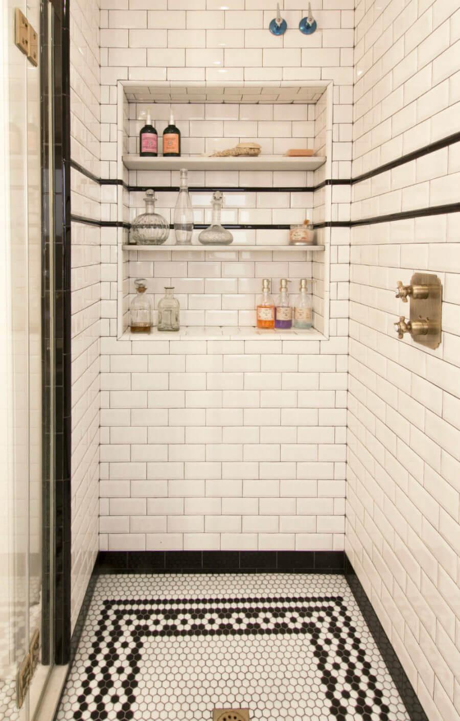 Roman Bathhouse Classic Shower Floor