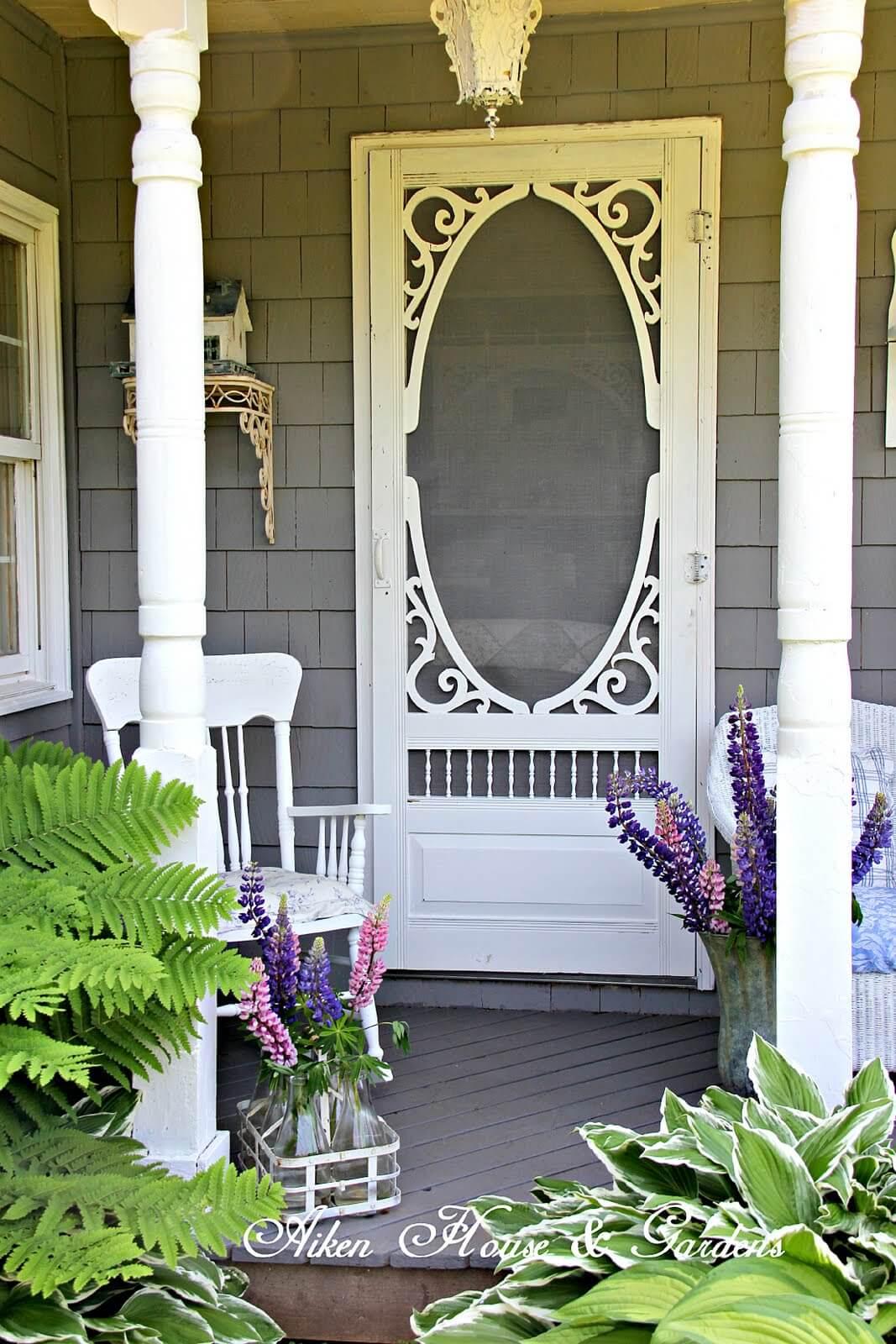 Fairytale Gingerbread Front Porch Design
