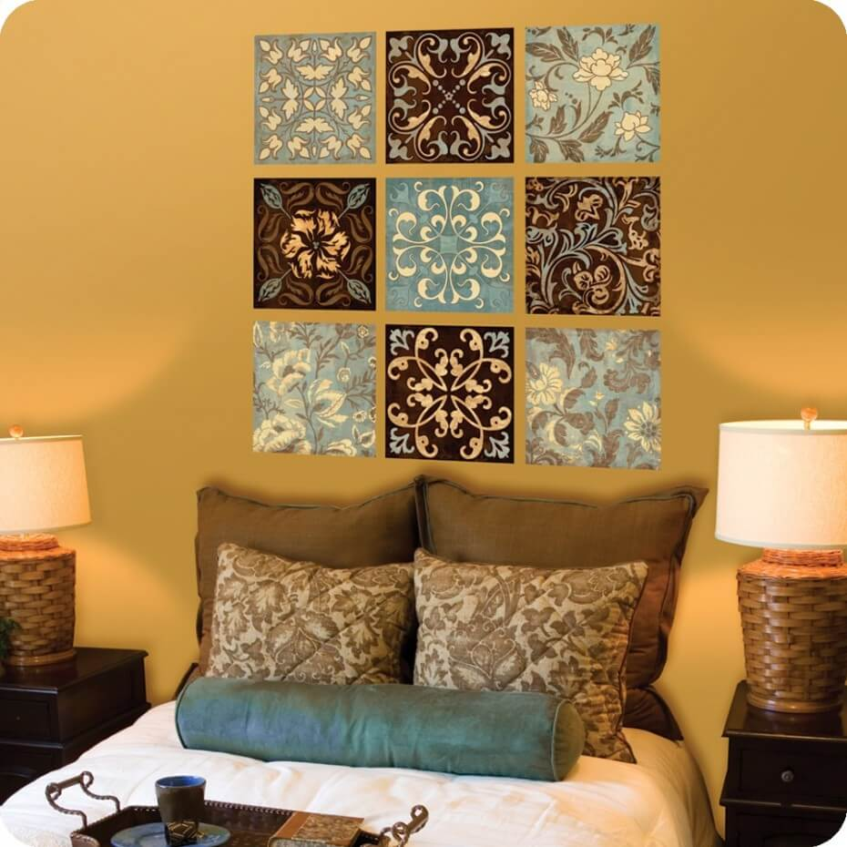 Kaleidoscope Tiles in Floral Design
