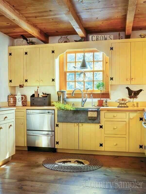 Choose a Gentle Yellow for a Farmhouse-Friendly Feel