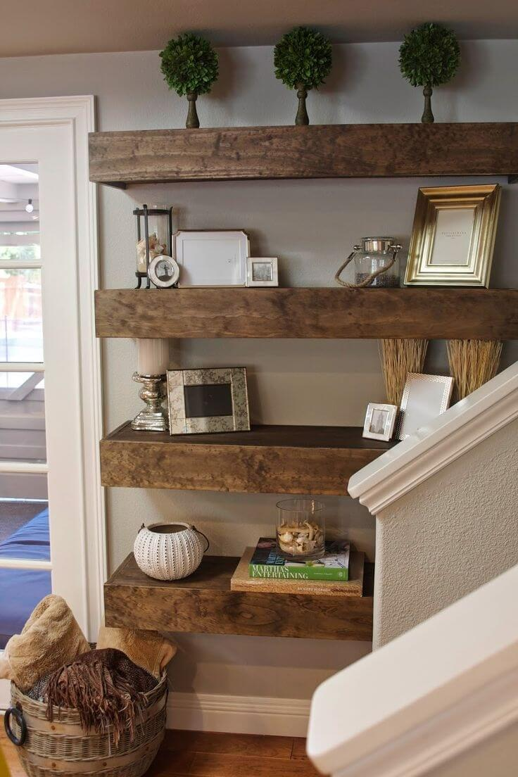 Big and Bold Shelf Idea