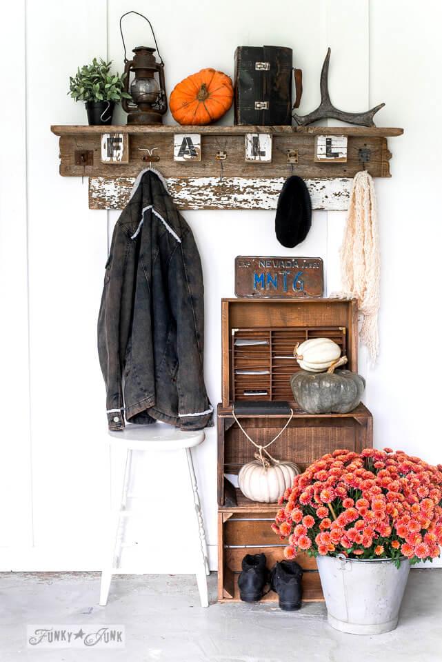 DIY Rustic Fall Wood Sign