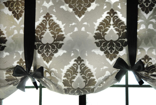 Trade Sewn Curtain Projects for Pretty Tie-up Shades
