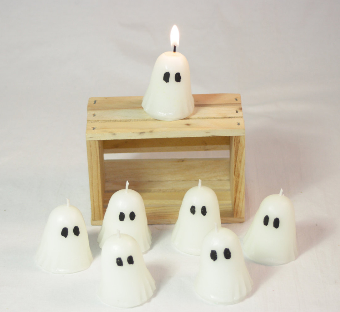 Mini Ghost Candles