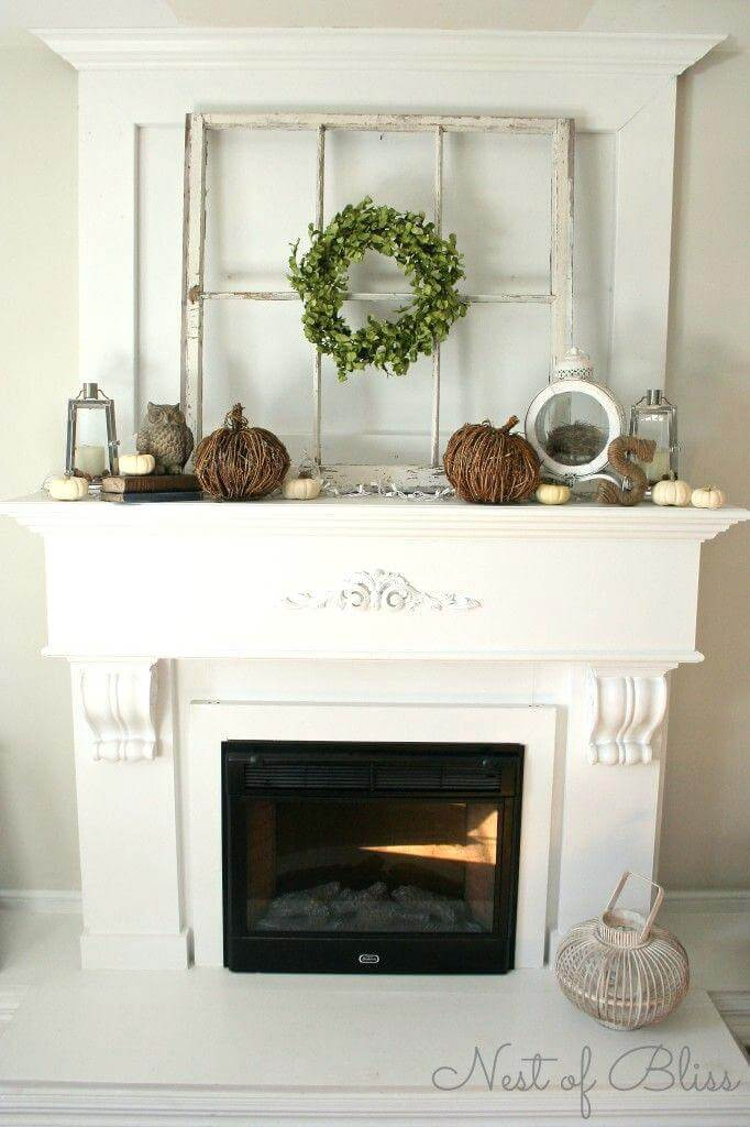 Easy All Seasons Fireplace Design