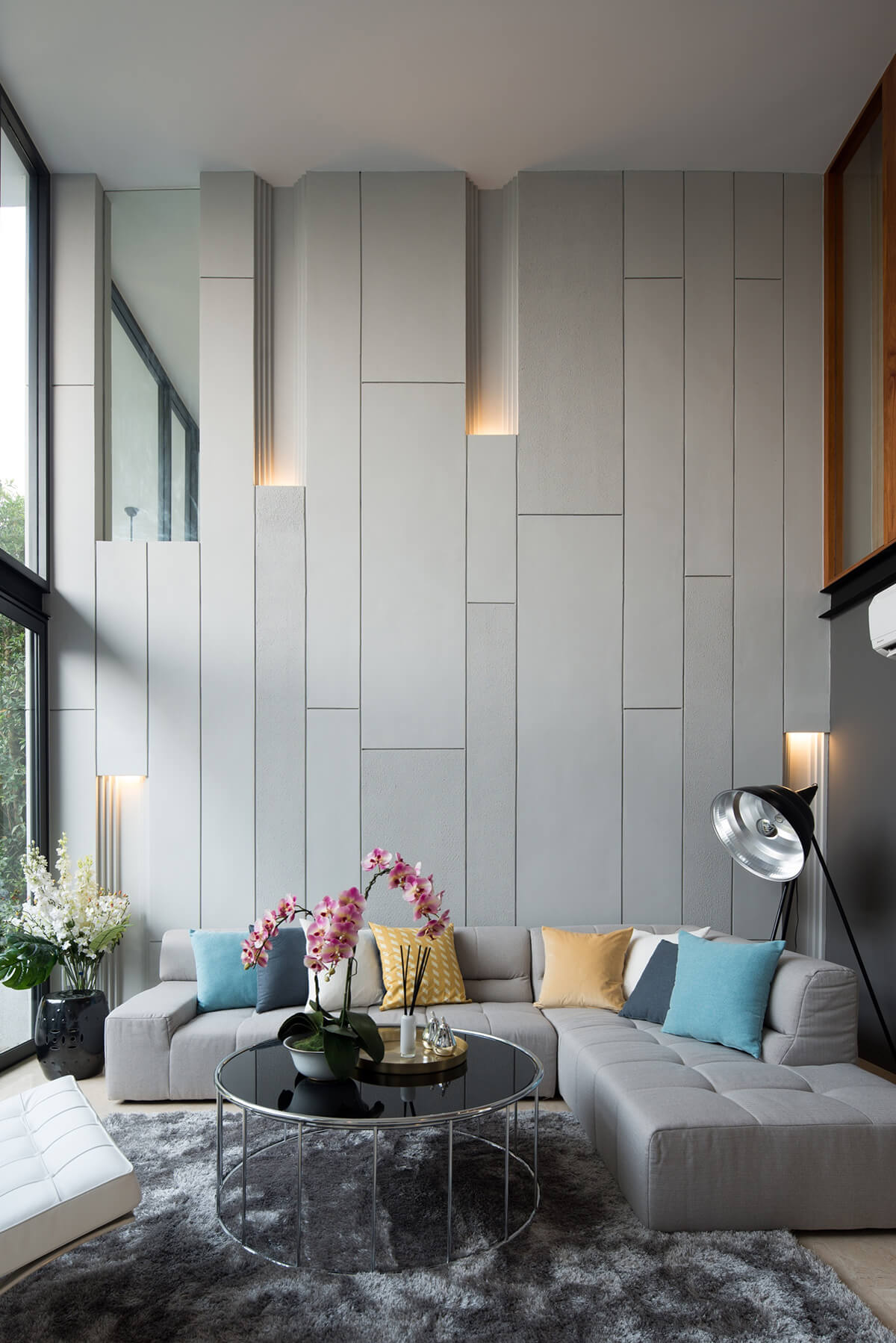 Fun and Unexpected Living Room Design