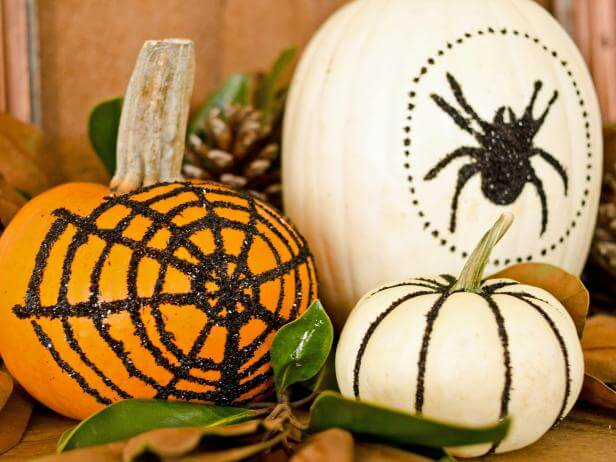 The Itsy Bitsy Spider on the Pumpkins