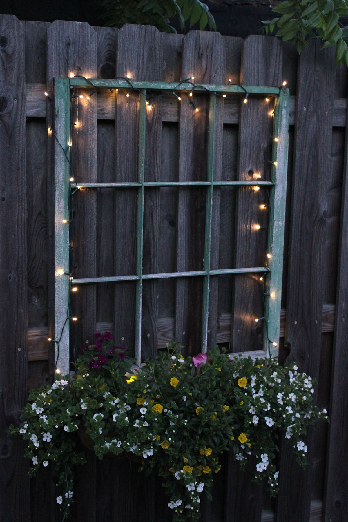 Magical Fairy Lights and Hanging Flowers