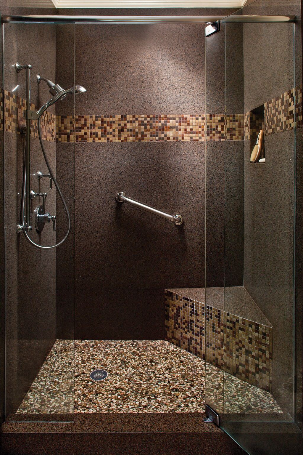 South-By-Southwest Multi-Tiered Shower Design