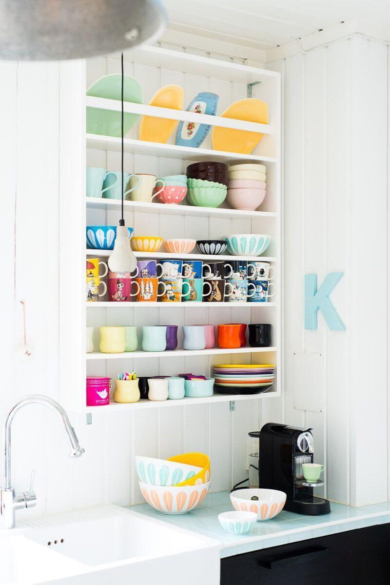 Wall-mounted Dish Rack