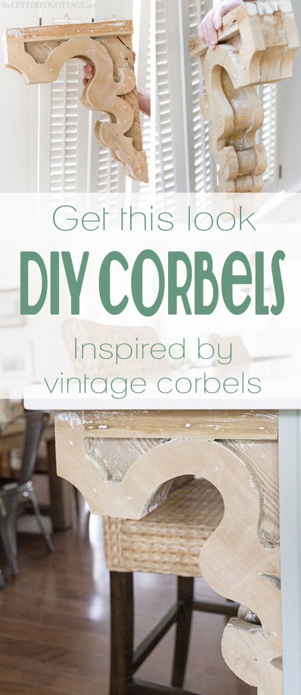 Vintage Inspired Interior Corbel Ideas