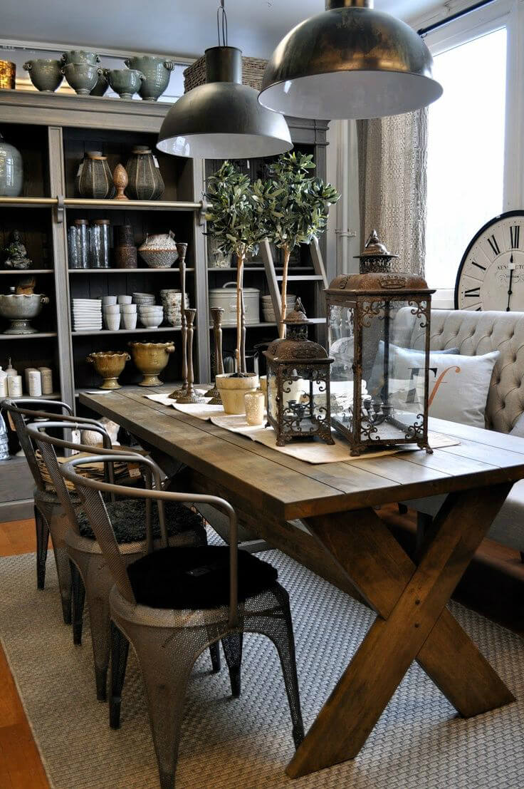 Industrial Design Dining Room Layout