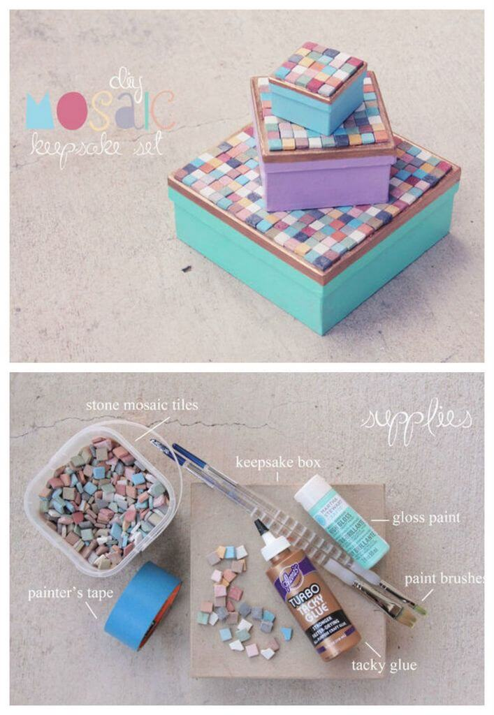 Easy DIY Mosaic Crafts Project