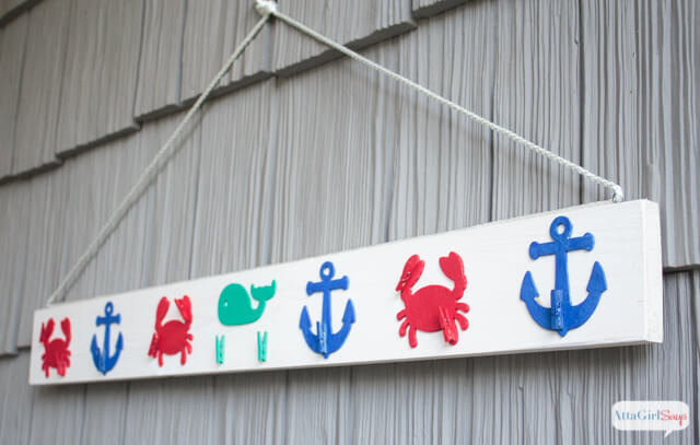 Cute Nautical Graphics with Handy Clothespins
