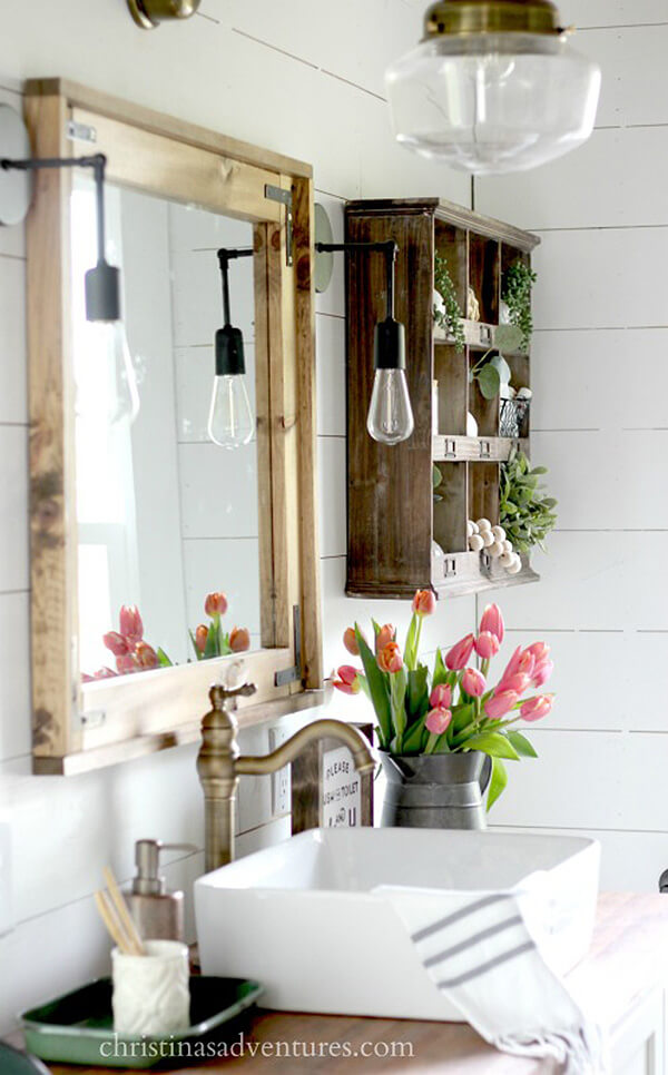 Farmhouse Kitchen Sink, Schoolhouse Lighting