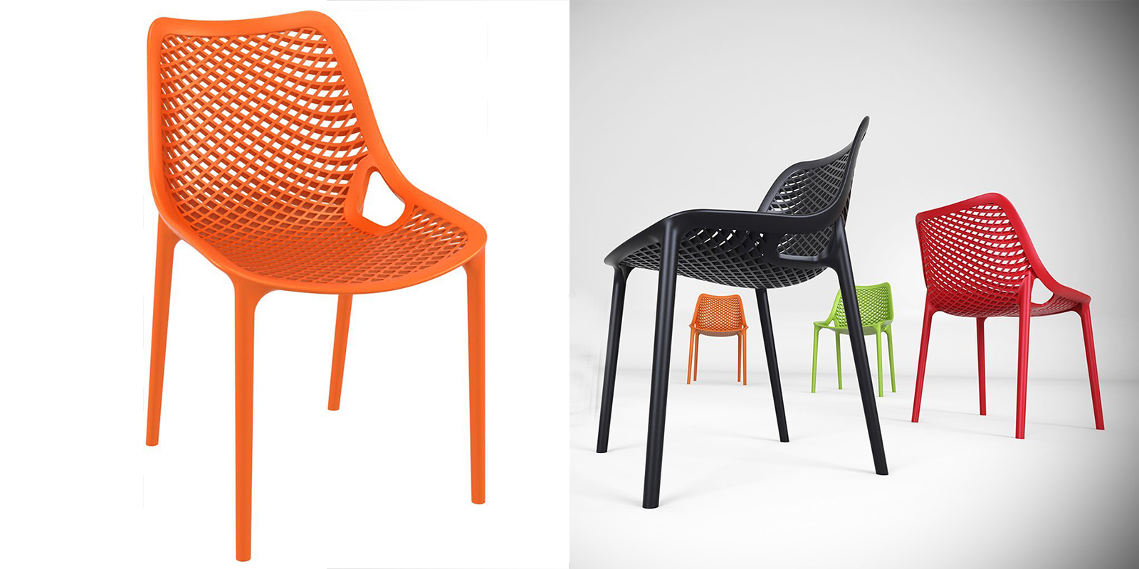 Patio Chair - Stacking Dining Chair