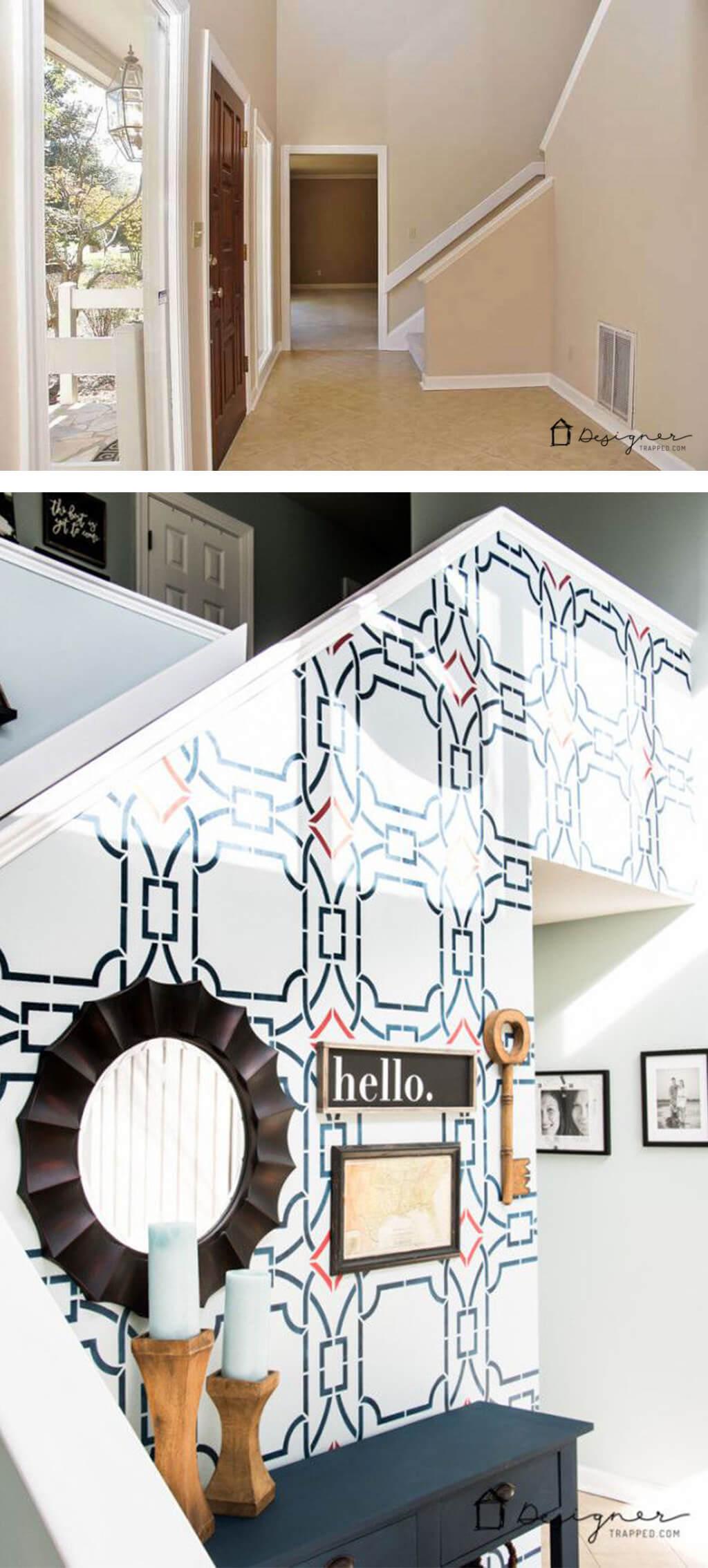 Highbrow Graphic Art Deco Wall Design