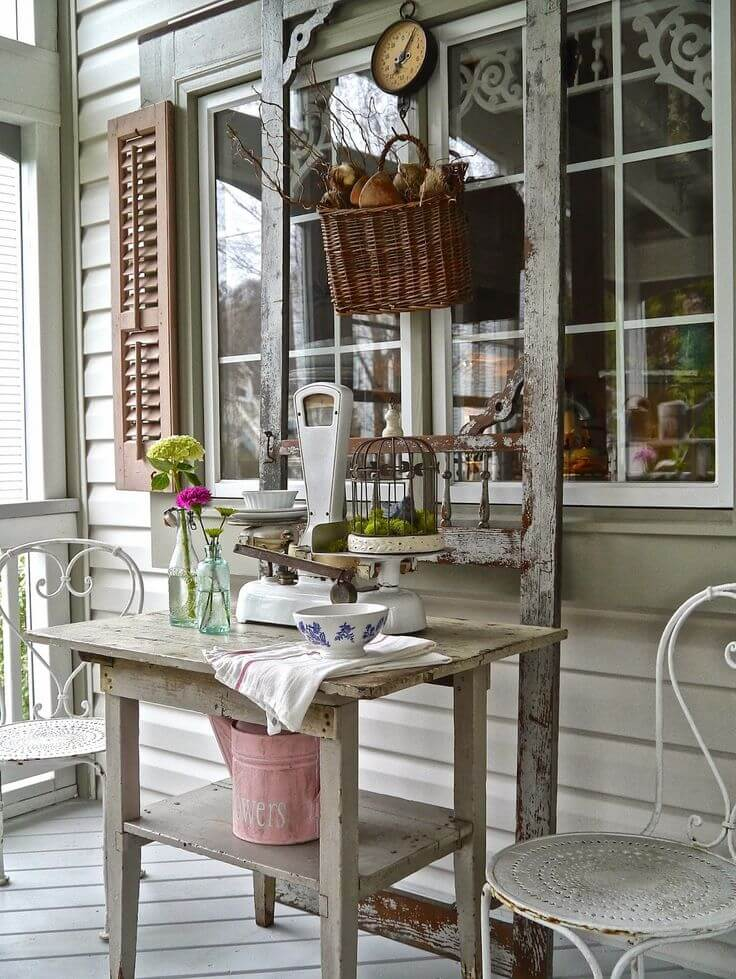 Distressed Outdoor Country Store Display