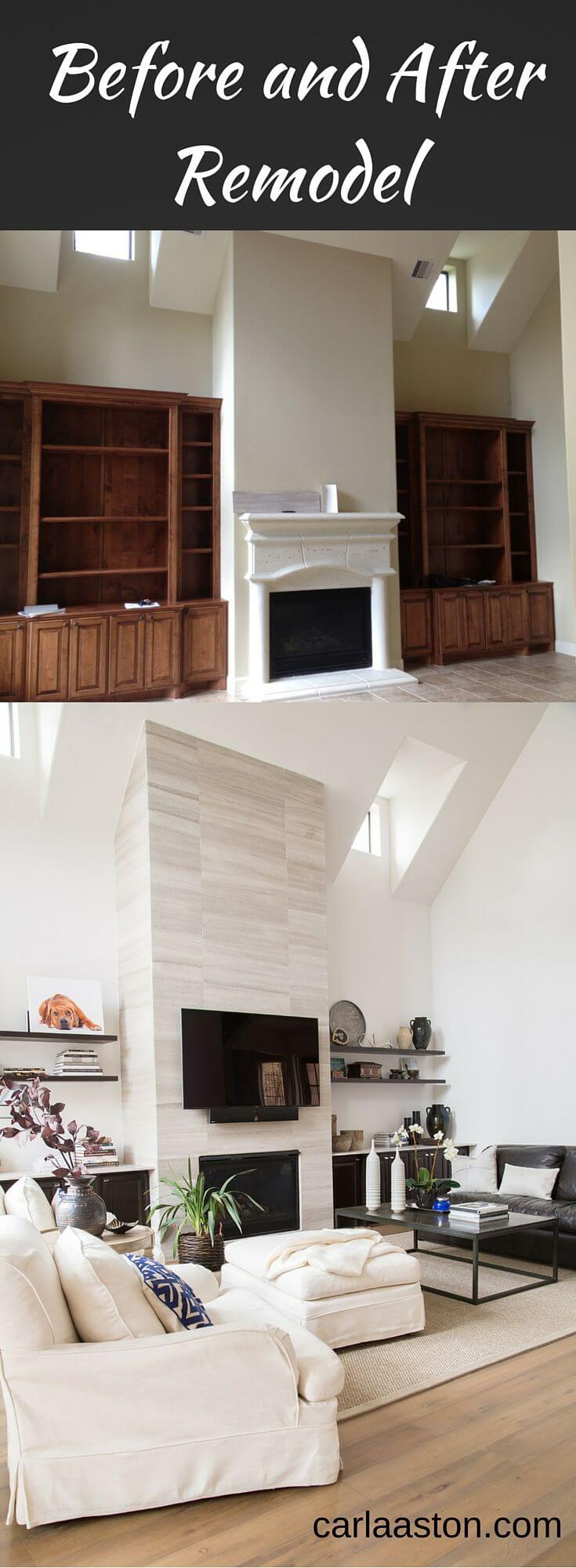 A Floor-to-Ceiling Living Room Remodel