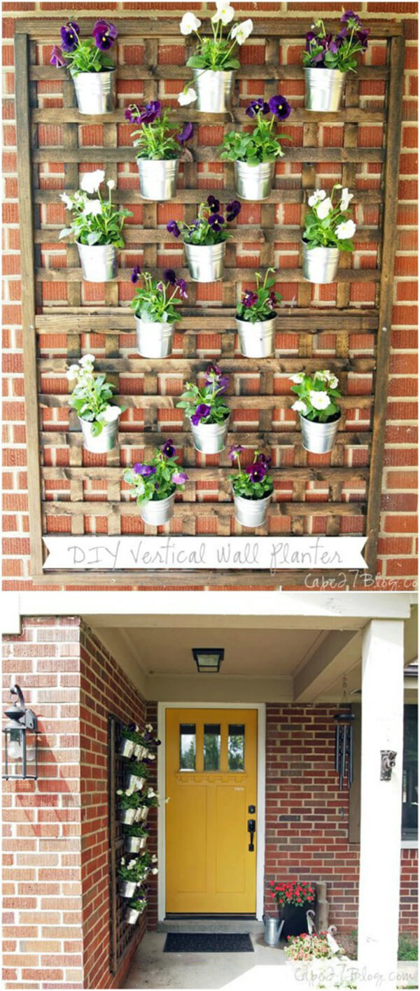 DIY Porch and Patio Decor Ideas with Flowerpots