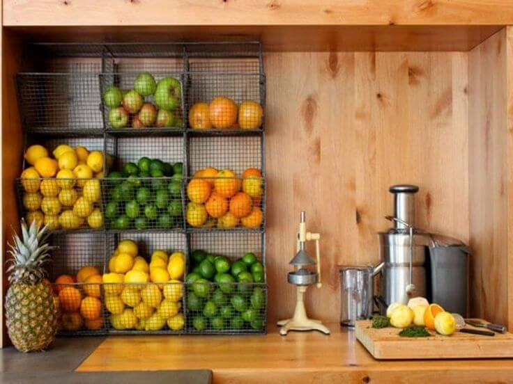 Sweet and Tidy Fruit Juicing Station