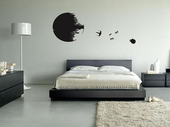 A Grown up Star Wars Room