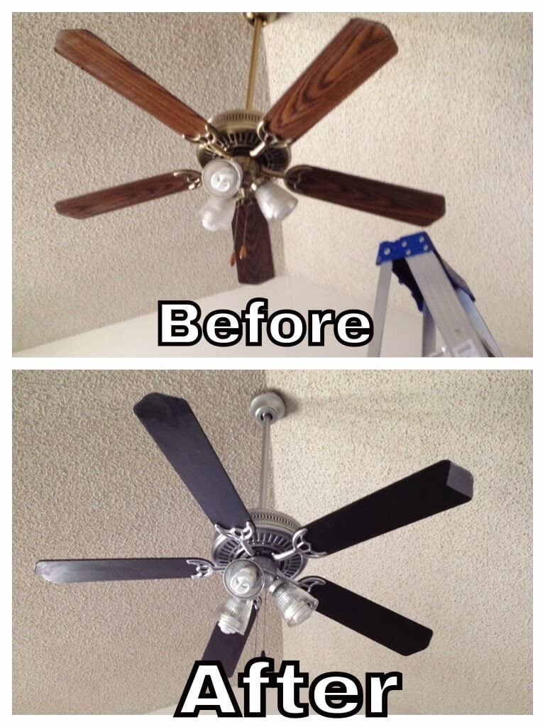 Small Budget Ceiling Fan Facelift
