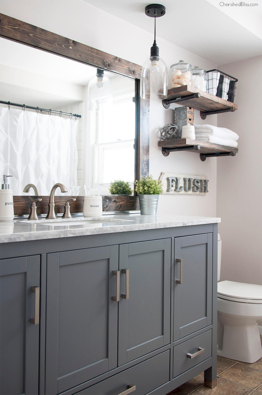 Town(house) and Country Pallet Projects For Your Bathroom