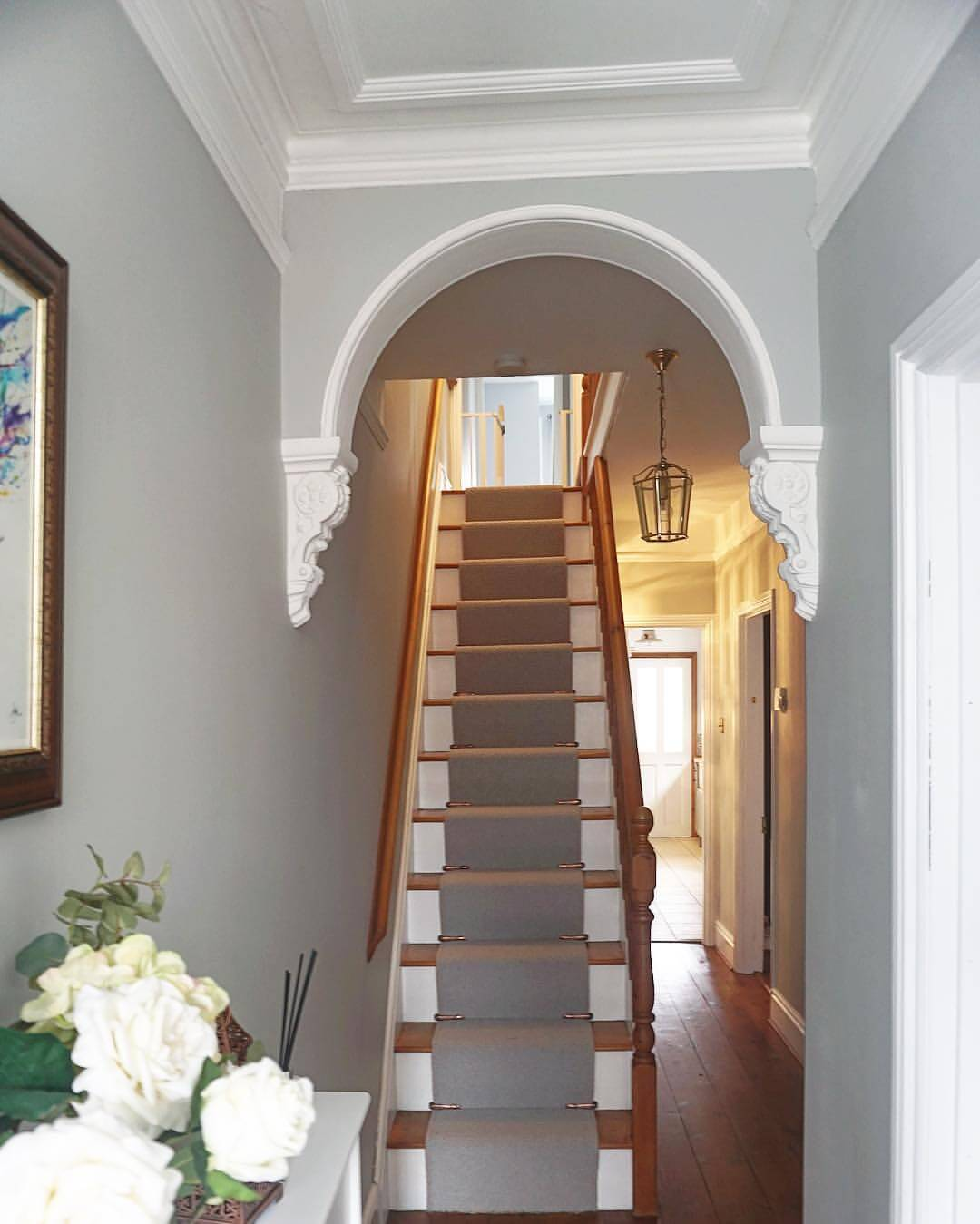 Picture Perfect with a Dimensional Stairway Arch