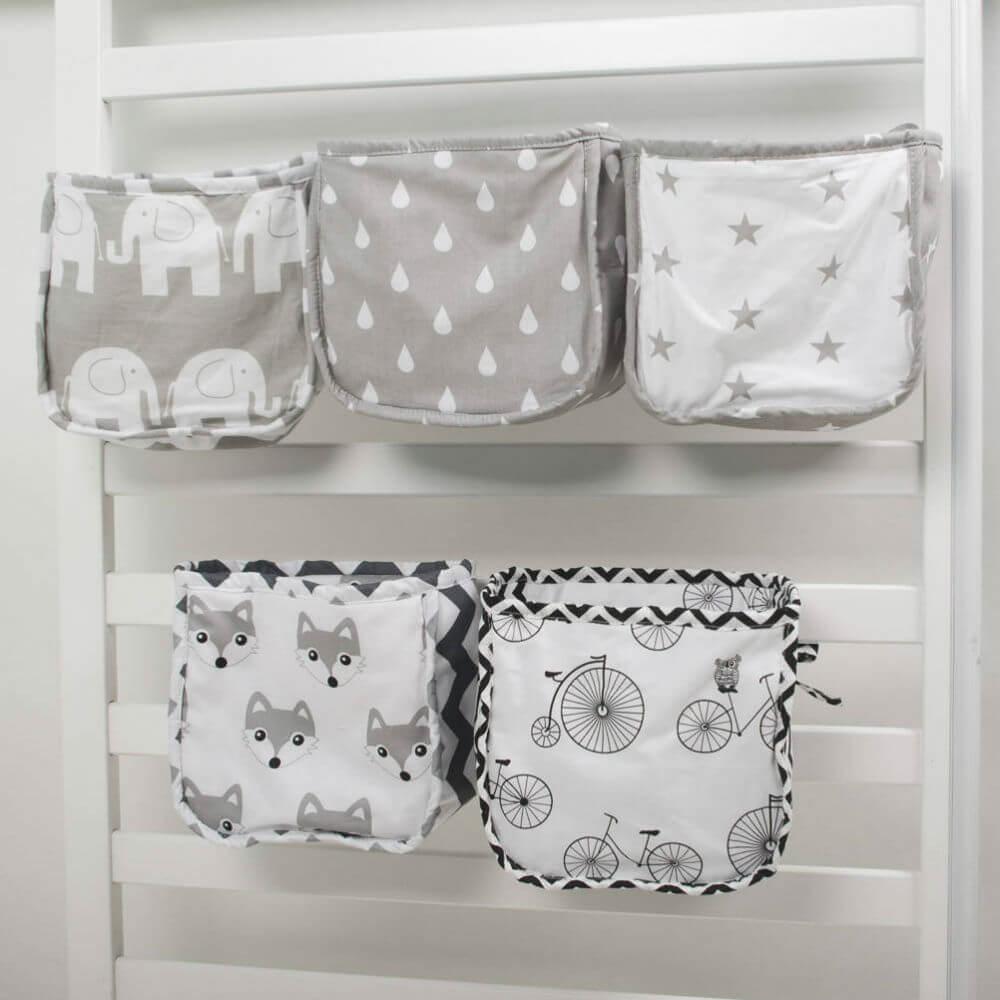 Crib Pocket Organizers for Nurseries