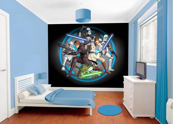 A Fun Cartoon Room